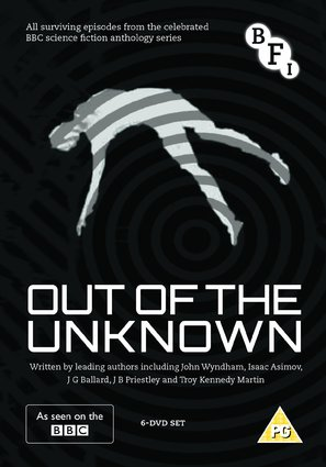 """""""Out of the Unknown"""" - British DVD movie cover (thumbnail)"""