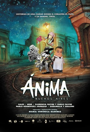 Ánima Buenos Aires - Argentinian Movie Poster (thumbnail)