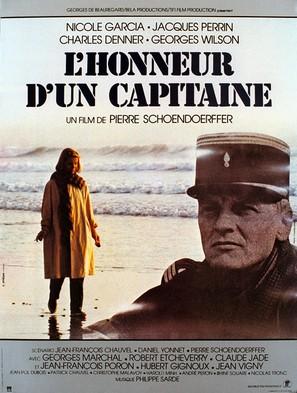 L'honneur d'un capitaine - French Movie Poster (thumbnail)