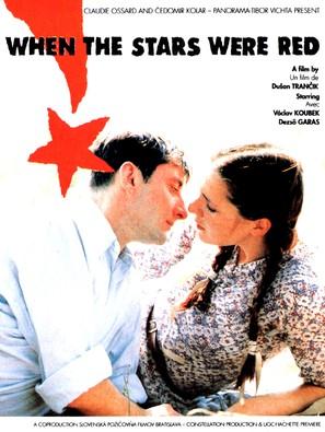 Ked hviezdy boli cervené - French Movie Poster (thumbnail)