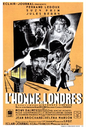 L'homme de Londres - French Movie Poster (thumbnail)