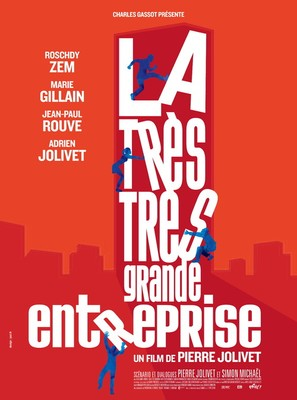 La très très grande entreprise - French Movie Poster (thumbnail)