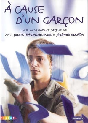 À cause d'un garçon - French DVD movie cover (thumbnail)
