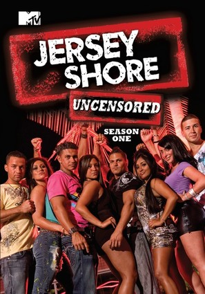 """""""Jersey Shore"""" - DVD movie cover (thumbnail)"""