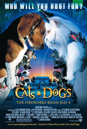Cats & Dogs - Movie Poster (thumbnail)