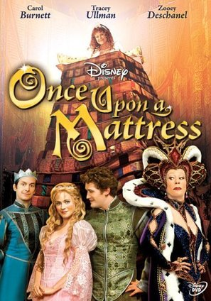 Once Upon a Mattress - DVD cover (thumbnail)