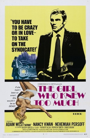 The Girl Who Knew Too Much - Movie Poster (thumbnail)