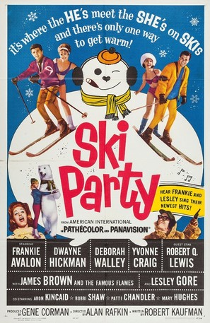 Ski Party - Movie Poster (thumbnail)