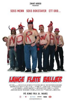 Lange flate ballær - Norwegian poster (thumbnail)