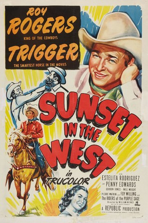 Sunset in the West - Movie Poster (thumbnail)