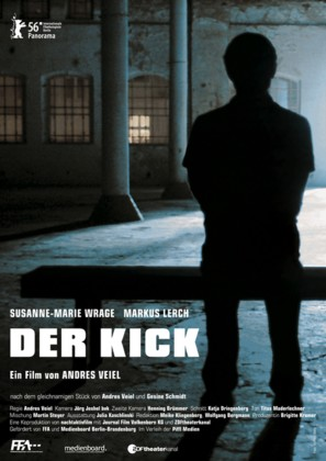 Der Kick - German Movie Poster (thumbnail)