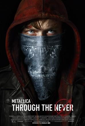 Metallica Through the Never - Movie Poster (thumbnail)
