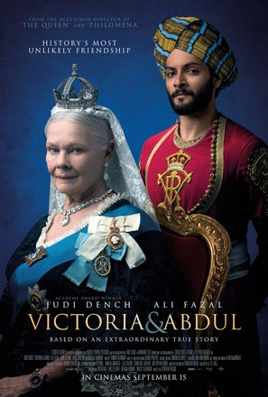 Victoria and Abdul - British Movie Poster (thumbnail)