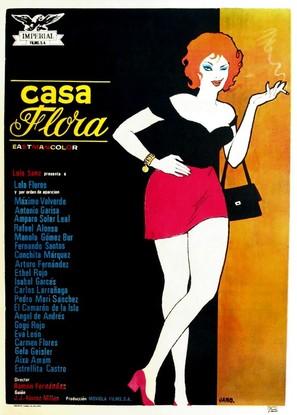 Casa Flora - Spanish Movie Poster (thumbnail)