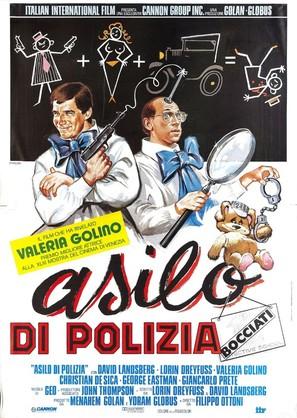Detective School Dropouts - Italian Movie Poster (thumbnail)