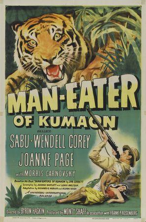 Man-Eater of Kumaon - Theatrical movie poster (thumbnail)