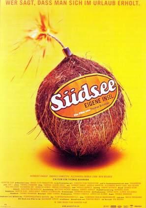 Südsee, eigene Insel - German Movie Poster (thumbnail)