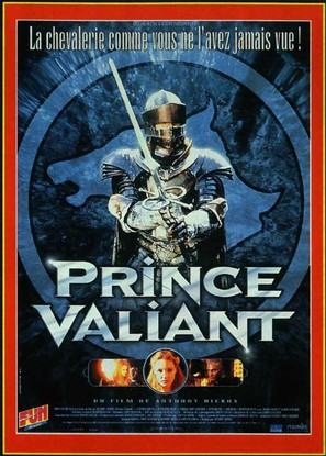 Prince Valiant - French Movie Poster (thumbnail)