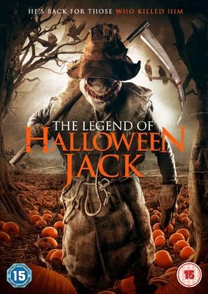 The Legend of Halloween Jack - British DVD movie cover (thumbnail)