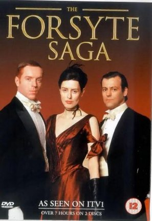 """The Forsyte Saga"" - British DVD movie cover (thumbnail)"