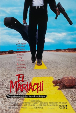 El mariachi - Movie Poster (thumbnail)
