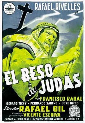 Beso de Judas, El - Spanish Movie Poster (thumbnail)