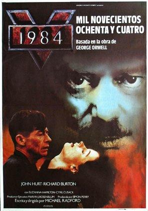 Nineteen Eighty-Four - British Movie Poster (thumbnail)