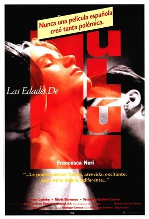 Las edades de Lulú - Spanish Movie Poster (thumbnail)