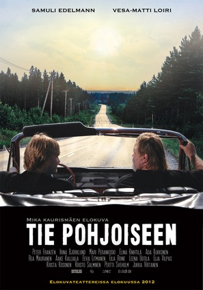 Tie Pohjoiseen - Finnish Movie Poster (thumbnail)
