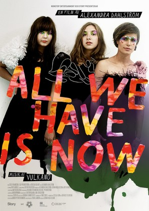 All We Have Is Now - Swedish Movie Poster (thumbnail)