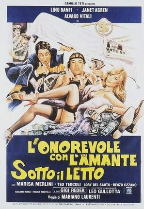 L'onorevole con l'amante sotto il letto - Italian Theatrical movie poster (thumbnail)