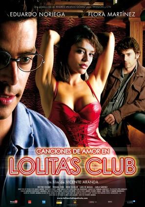 Canciones de amor en Lolita's Club - Spanish Movie Poster (thumbnail)