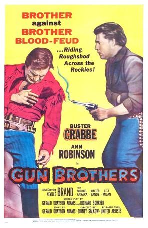 Gun Brothers - Movie Poster (thumbnail)