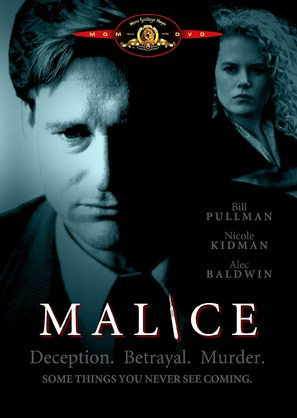 Malice - DVD cover (thumbnail)