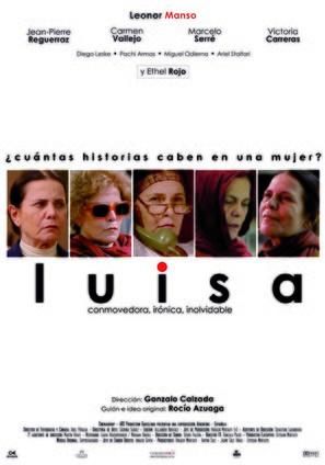 Luisa - Argentinian Movie Poster (thumbnail)
