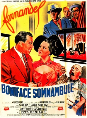 Boniface somnambule - French Movie Poster (thumbnail)