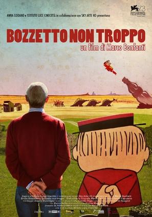 Bozzetto non troppo - Italian Movie Poster (thumbnail)