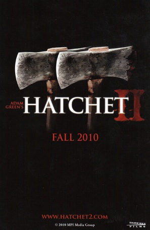 Hatchet 2 - Movie Poster (thumbnail)