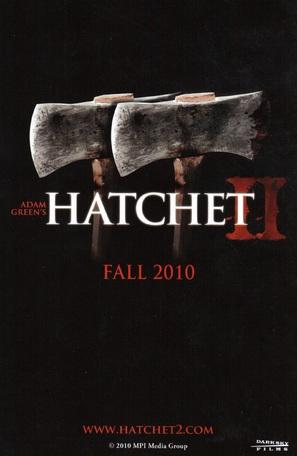Hatchet 2 - Movie Poster (thumbnail)