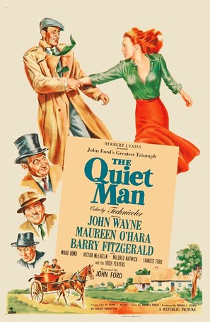 The Quiet Man - Movie Poster (thumbnail)