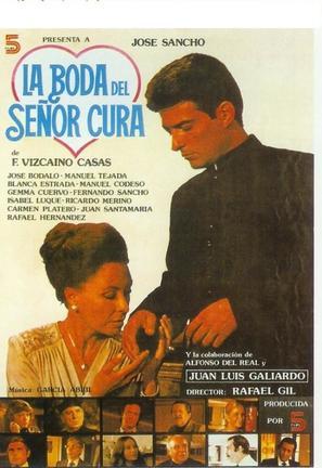 Boda del señor cura, La - Spanish Movie Poster (thumbnail)
