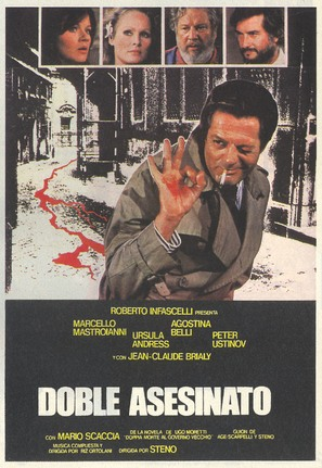 Doppio delitto - Spanish Movie Poster (thumbnail)