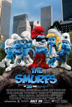 The Smurfs - Movie Poster (thumbnail)