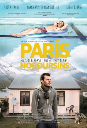 París Norðursins - Icelandic Movie Poster (thumbnail)