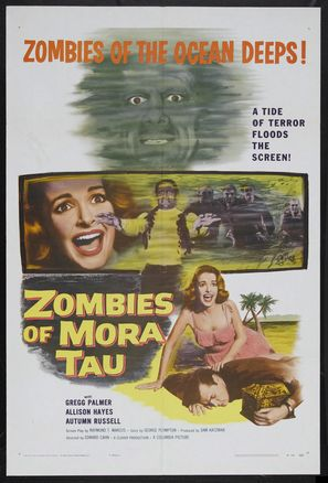 Zombies of Mora Tau - Movie Poster (thumbnail)
