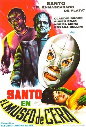 Santo en el museo de cera - Mexican Movie Poster (thumbnail)