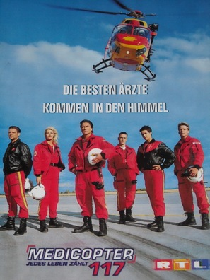 """Medicopter 117 - Jedes Leben zählt"" - German DVD cover (thumbnail)"