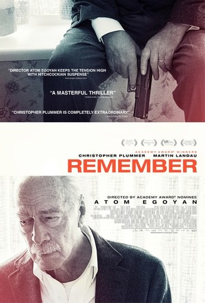 Remember - Movie Poster (thumbnail)
