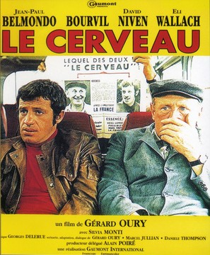 Le cerveau - French Movie Poster (thumbnail)