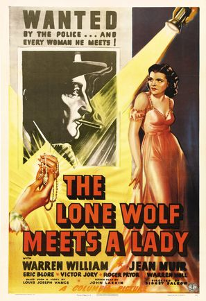 The Lone Wolf Meets a Lady - Movie Poster (thumbnail)